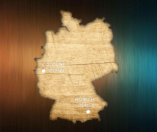 Germany Cutout